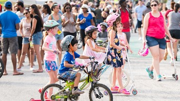 Some of Atlanta's busiest streets will be temporarily closed for Atlanta Streets Alive: Cross City