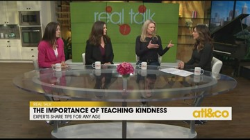 Real Talk: The Importance of Teaching Kindness to our Kids