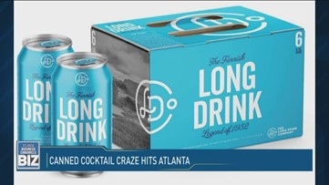 Canned cocktail craze hits Atlanta!
