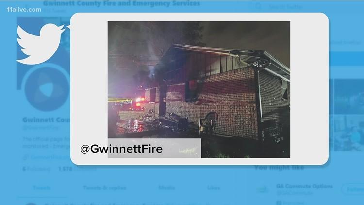 Six people displaced by Gwinnett duplex fire
