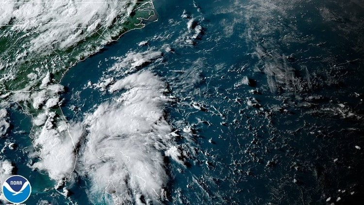 Tropical depression three forms offshore from South Florida