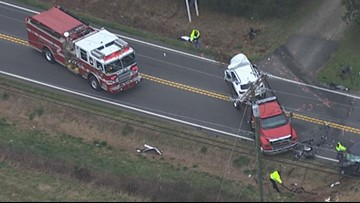 Gainesville woman killed in yesterday's Forsyth County crash
