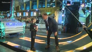 Boy who had heart surgery visits set of 'American Ninja Warrior'