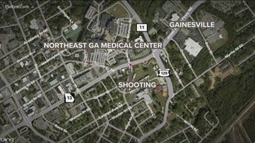 Police officers injured following shooting in Gainesville, GBI responding