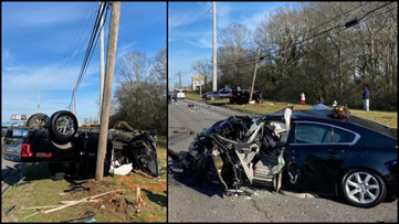 Athens accident shuts down eastbound Atlanta Highway