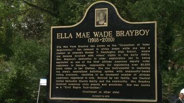 Atlanta dedicates new park to 'Godmother of Voter Registration'