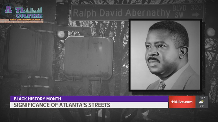 Atlanta's rich Civil Rights history as told through its street signs