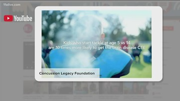 Concussion PSA compares youth tackle football dangers to smoking, social media reacts