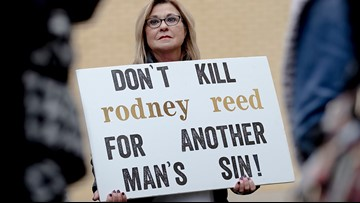 Local rallies take place for Texas death row inmate Rodney Reed