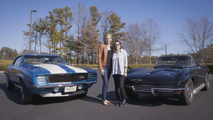leann and emily cars