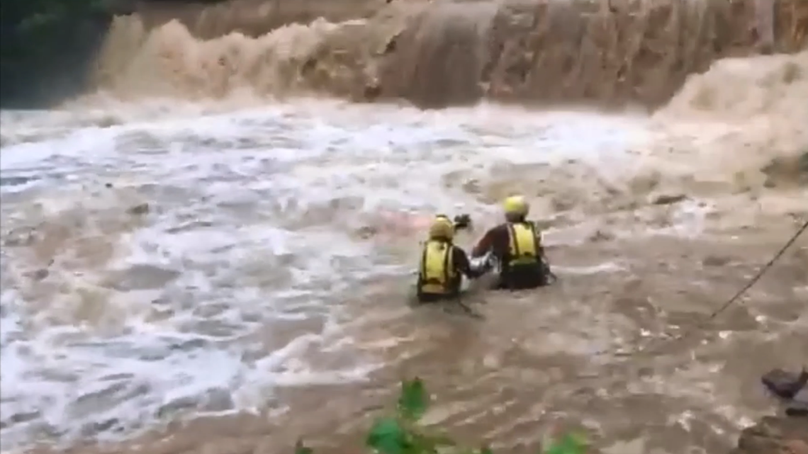 'The child is in the water' | 911 tapes detail harrowing swift water rescue