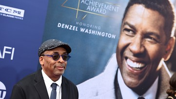 Spike Lee honored at Morehouse College