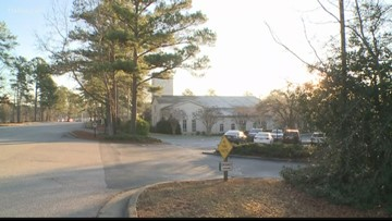 Assault rifle found at Peachtree City church