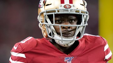 'Track has been my real dream': NFL player Marquise Goodwin training for Olympics