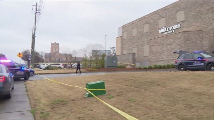 Man found dead outside of Whole foods in Atlanta