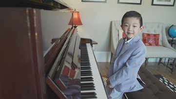 He's 6. He's a piano prodigy. And this weekend he'll play Carnegie Hall.