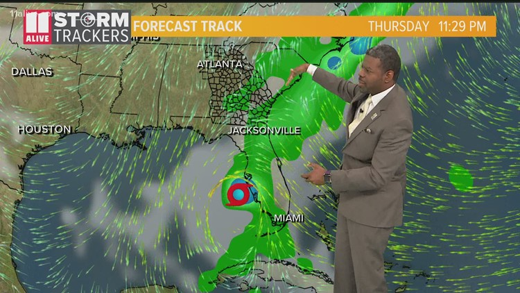 Tracking the Tropics | Tropical Storm Eta latest forecast and models