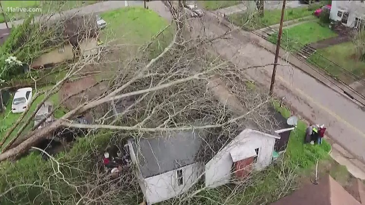 EF-4 tornado ripped through Newnan, preliminary survey results show | Here's where the city stands Saturday