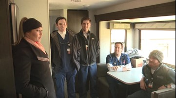 Auburn medical students provide free medical care to tornado victims