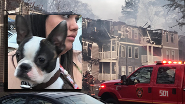 'My dog is my family' | Firefighters rescue dogs from Marietta apartment fire