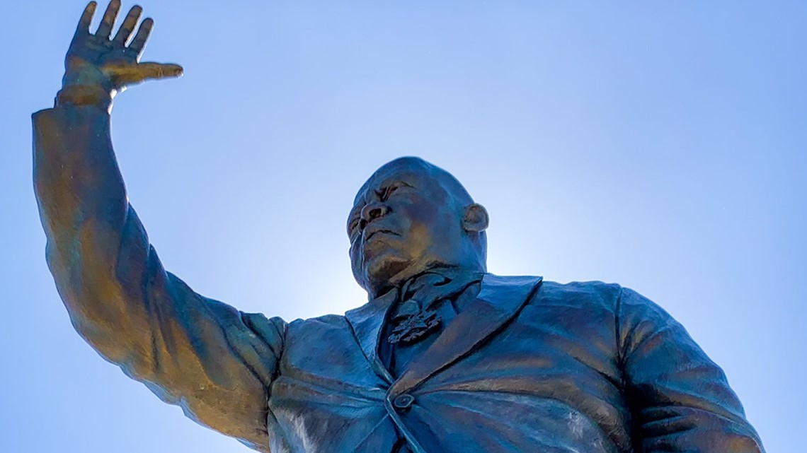 John Lewis Honored With Statue at Opening of Atlanta's Rodney Cook Sr. Park