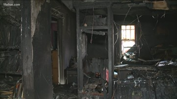 Couple throws kids from window to save them from house fire