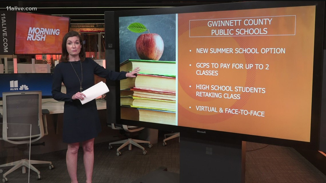 Gwinnett County to pay for summer school for some students to address learning gaps
