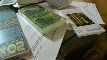 Lottery tickets kept getting mailed to a woman by mistake. Why couldn't she just scratch them?