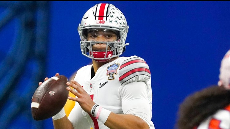 Mock draft | Falcons selecting Justin Fields fits into current drafting trend