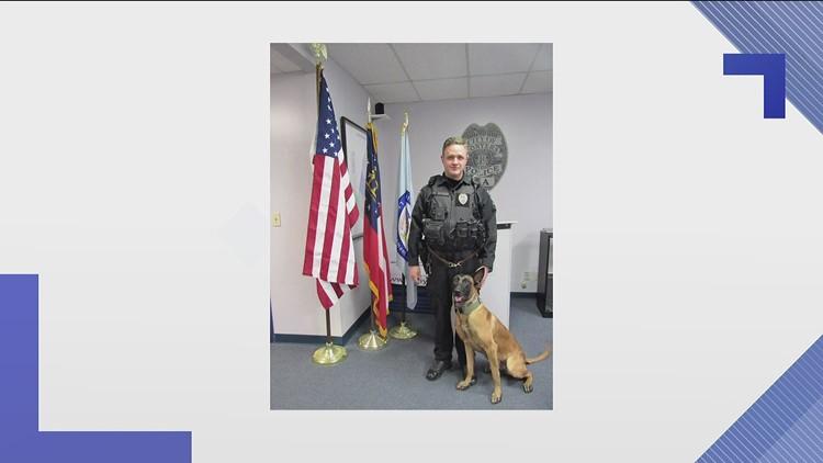 Conyers K-9 officer gets new bullet-proof vest