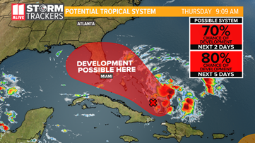 Another named tropical system likely forms by week's end