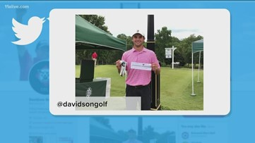 Golfer conquers Atlanta course in Dogwood Invitational, shooting a ridiculous 57