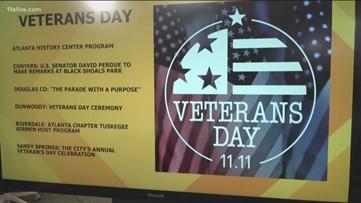 Veterans Day events across metro Atlanta