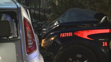 Atlanta reaches $500K settlement with woman after crash with police cruiser