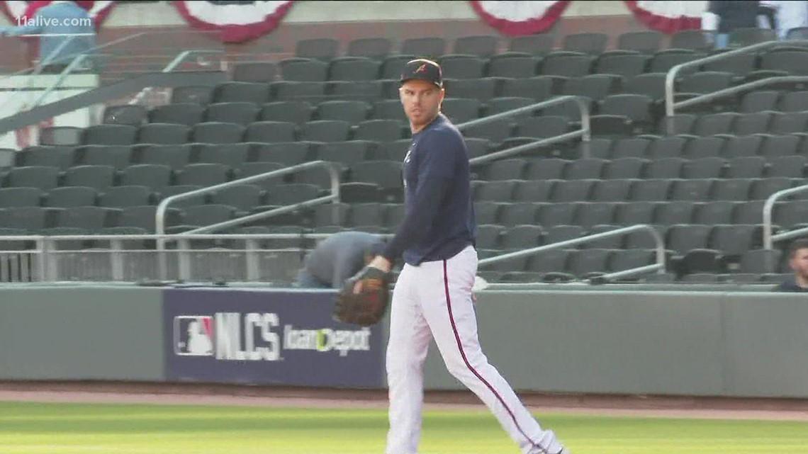 Braves prepare for Game 6 vs. Dodgers