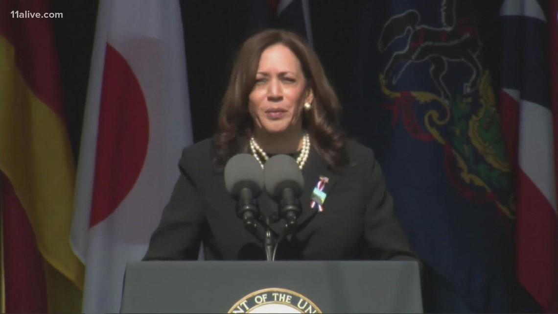 Vice President Kamala Harris speaks on 9/11