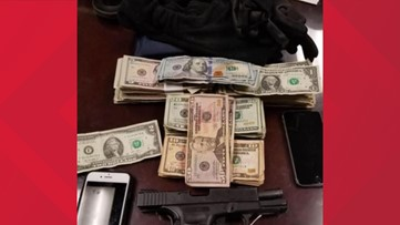 2 arrested after alleged armed robbery, chase in Butts County