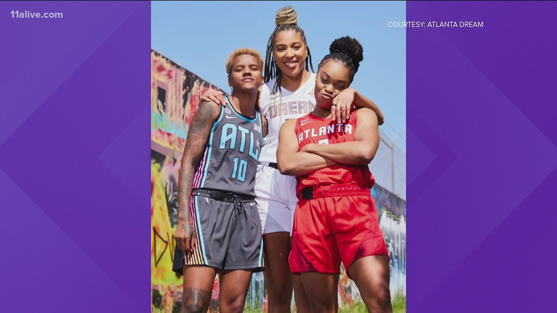 Atlanta Dream debuts new uniforms
