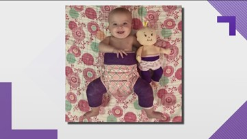 Doll created to look like girl who has hip dysplasia