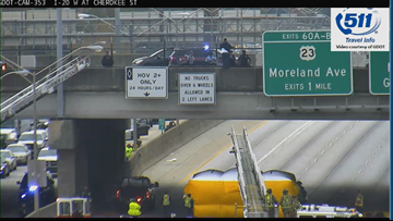 I-20 reopens after police situation is resolved