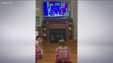 'She loves to sit and listen to it' | Little girl who is blind finds joy in story featured on 11Alive