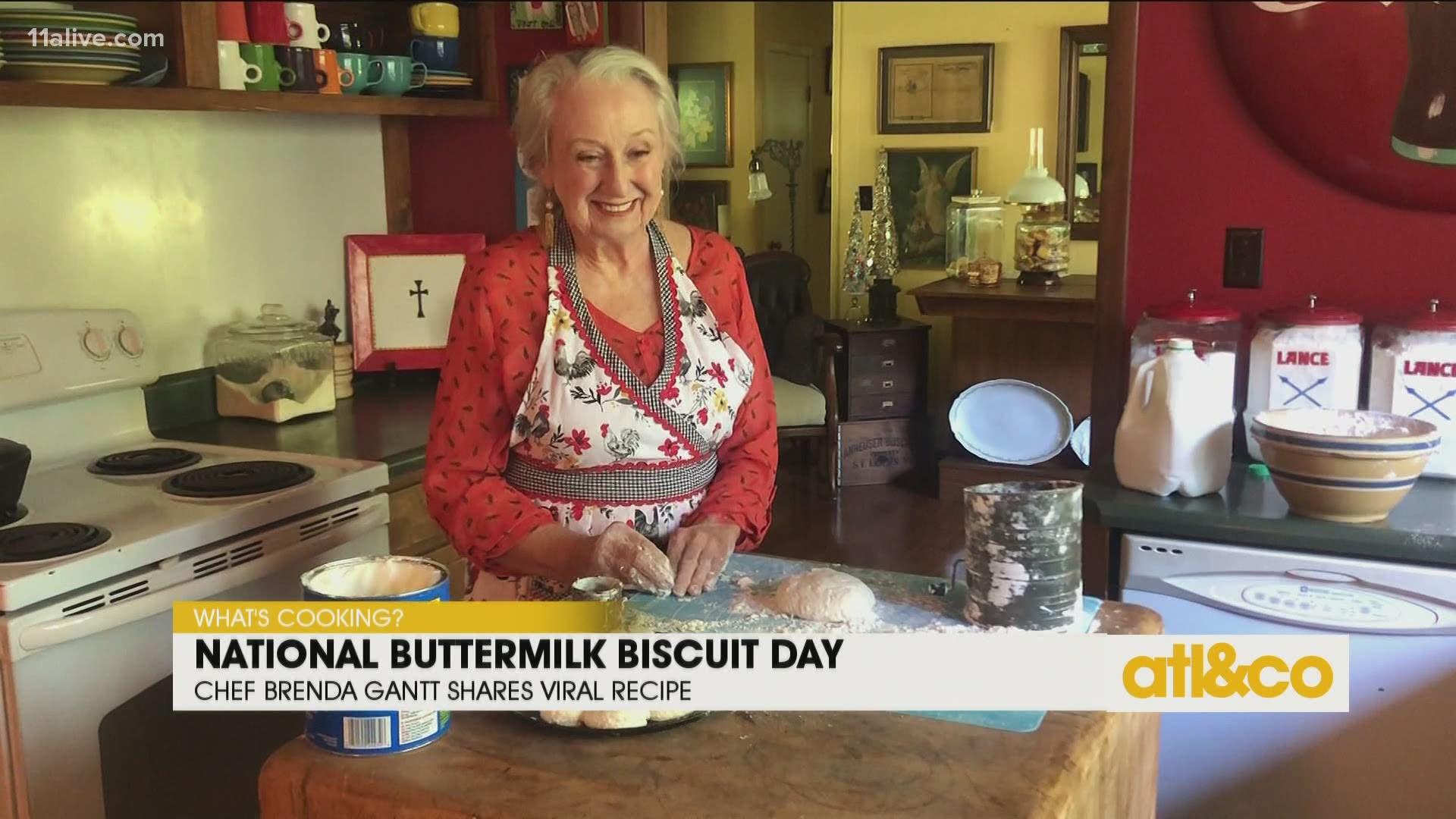 National Buttermilk Biscuit Day With Brenda Gantt 11alive Com