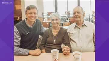 Couple spends 65th anniversary at Lilburn Chick-fil-A, eating breakfast at the same table they have for decades