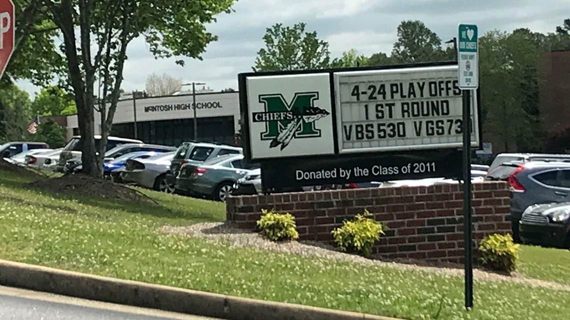 Mcintosh High School Student Terroristic Threats Charge
