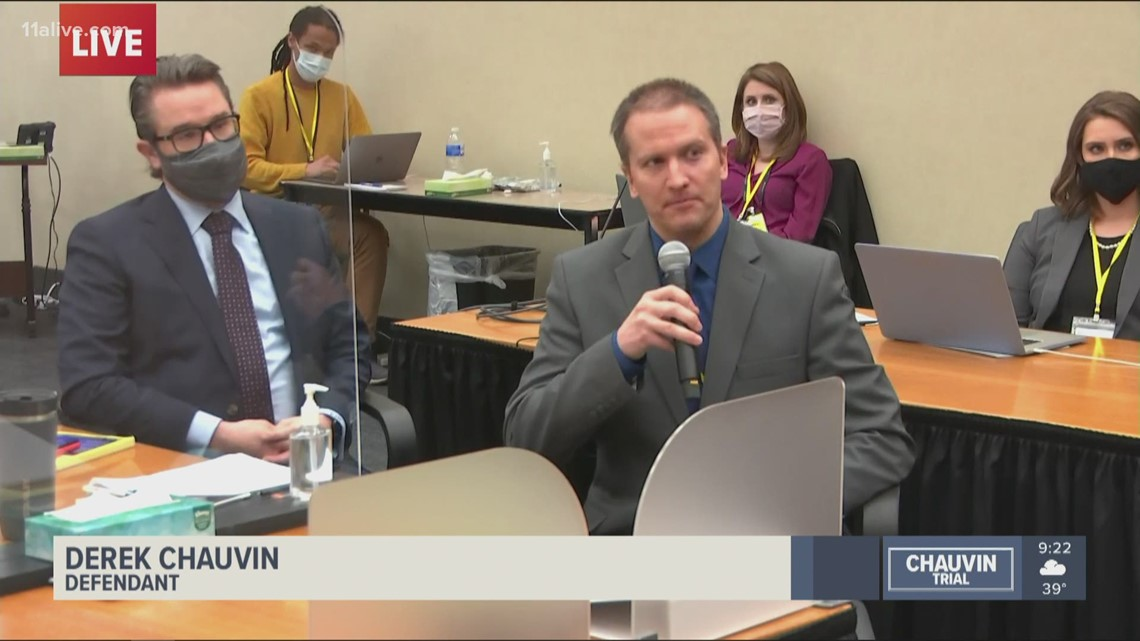 Trial | Derek Chauvin chooses not to testify in his own defense