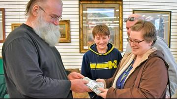 Michigan grandpa forgot something: $43,170 found in footstool